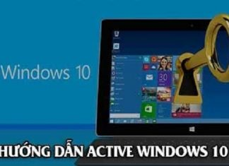 Active Windows 10 dễ dàng